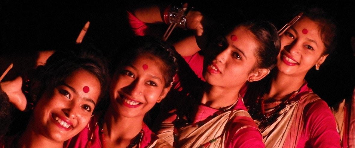 Assamese dance in Assam, India