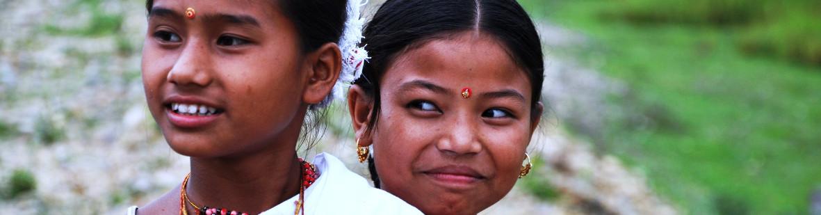 Children, Tribes of Assam