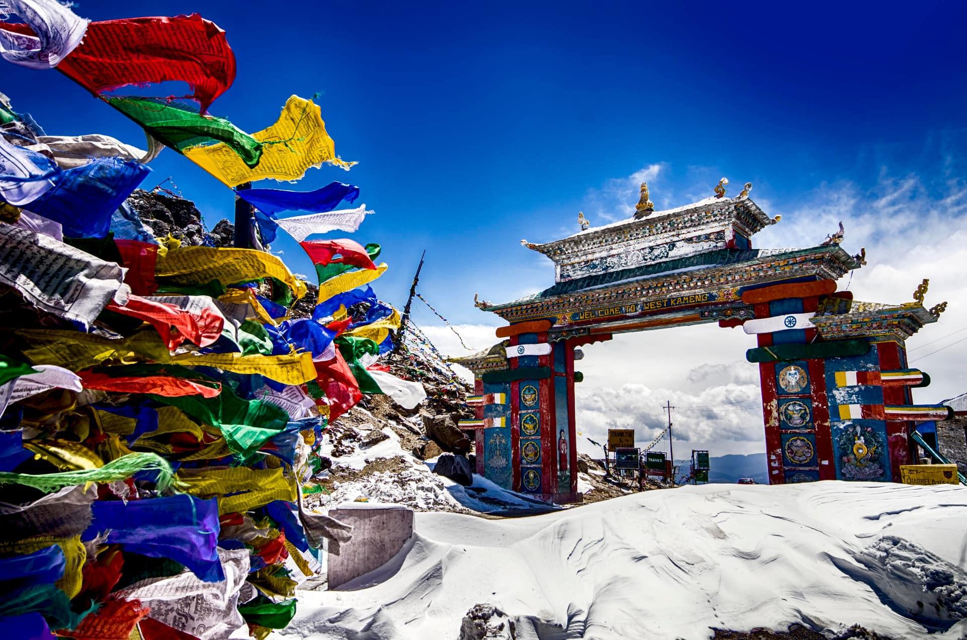 Sela Pass Gate - Tawang in Arunachal Pradesh