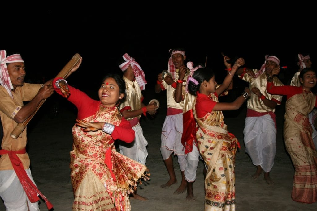 Assamese Bihu folk dance, Assam